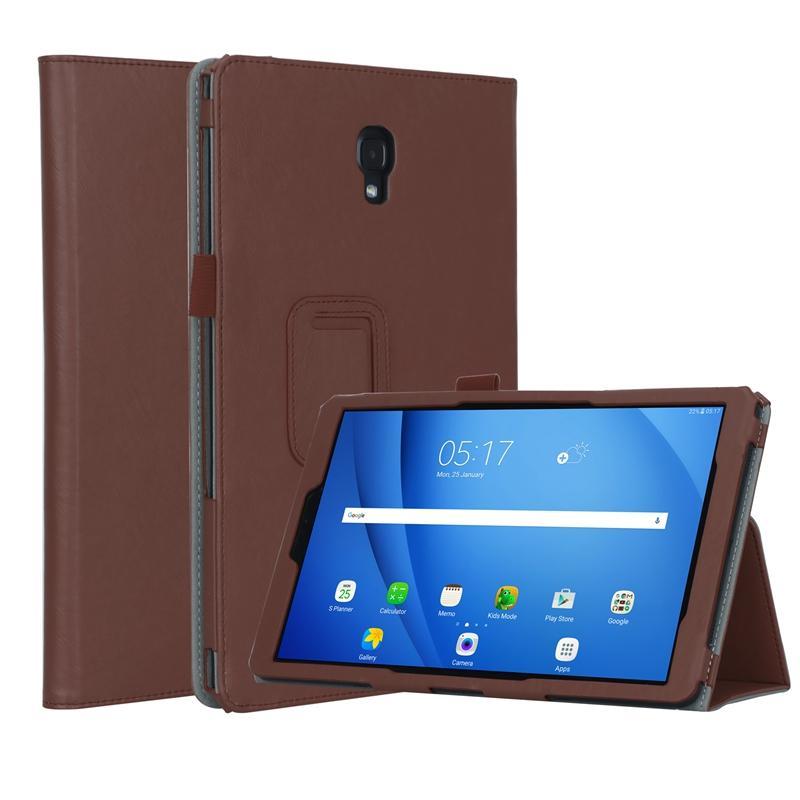 Люкс книга откидная крышка для Samsung Галактики Tab А2 10,5 дюйма T590 T595 T597 2018 планшет чехол Авто Услуга сна карты слоты ремешок 30шт