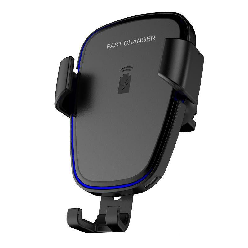 Araç Montaj qi Kablosuz Şarj Hızlı şarj Samsung S6 Not 8 Için mobil kablosuz şarj Galaxy S7 Kenar Cep Şarj Pedi