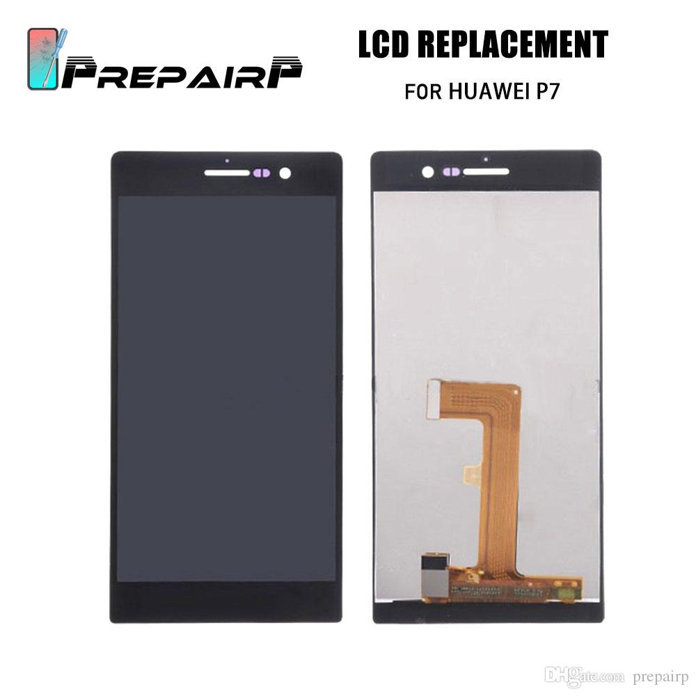 LCDs Screen For Huawei P7 Display Ascend P7 LCD Touch Screen Digitizer Replacement For repairing
