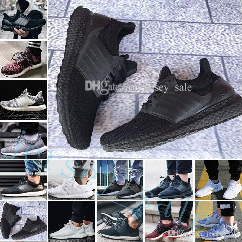 Ultra Boost 2.0 3.0 4.0 UltraBoost men running shoes for men sneakers womens Sports UB CNY Dog Snowflake Core Triple Black All White Grey