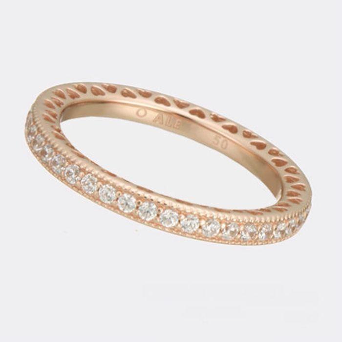 Acheter Bagues Coeur En Or Rose Argent S925 Convient À Des Bijoux De Style  Pandora 180963CZ H8ale H8 De 8,1 € Du Modernqueen | Fr.DHgate.Com