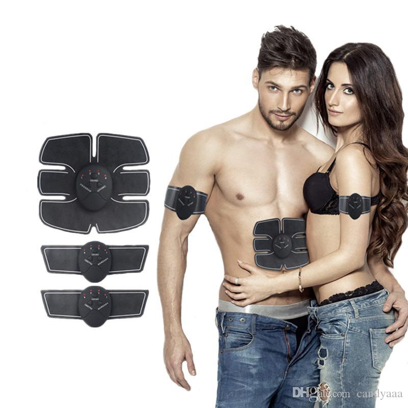 Sans Fil Stimulateur Musculaire EMS Stimulation Corps Minceur Beauté Machine Abdominale Muscle Exerciseur Formation Dispositif Corps Masseur
