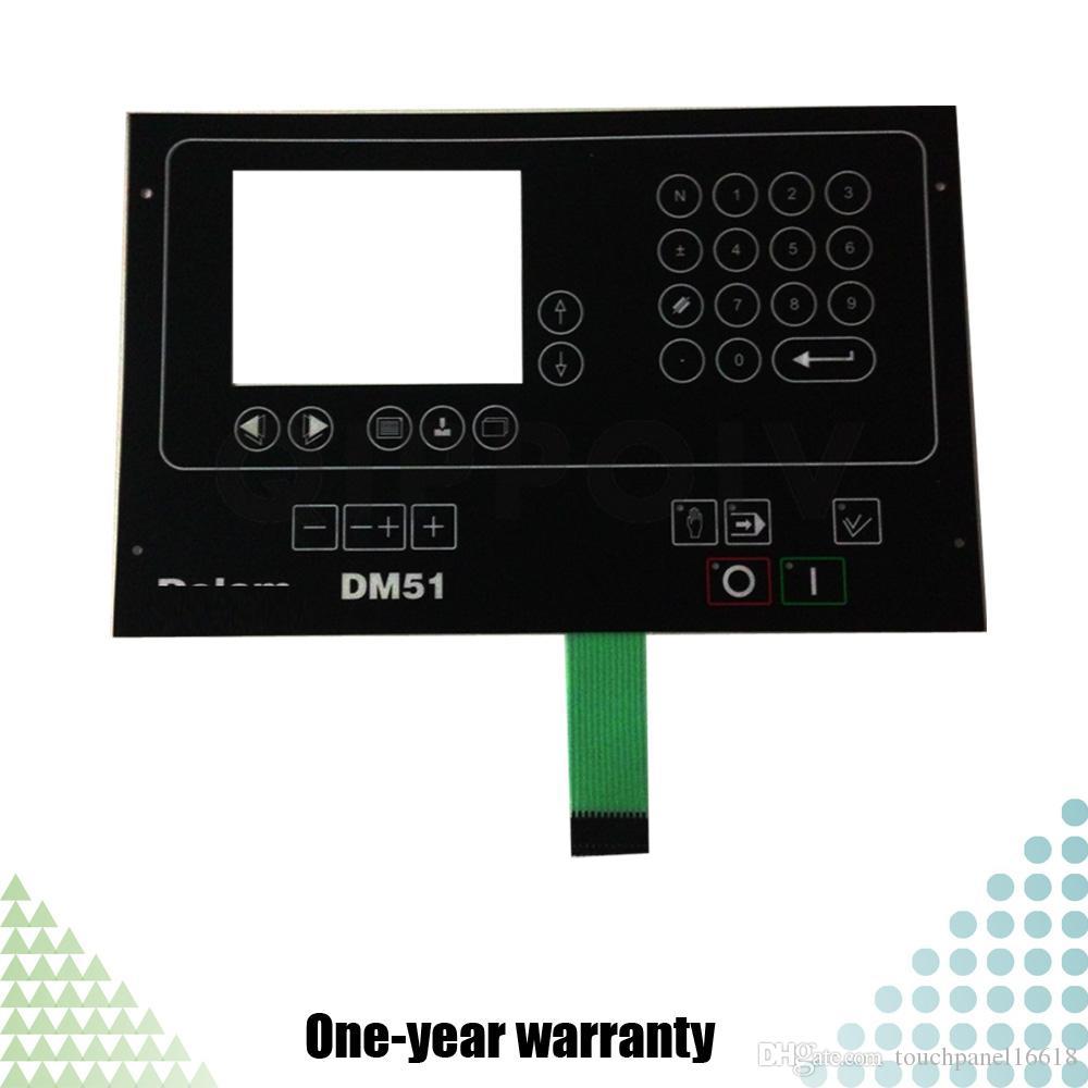 DELEM DM-51 DM51 DM 51 Neue HMI-SPS Folientastatur mit Folientastatur Industrielle Steuerungsteile für die Wartung