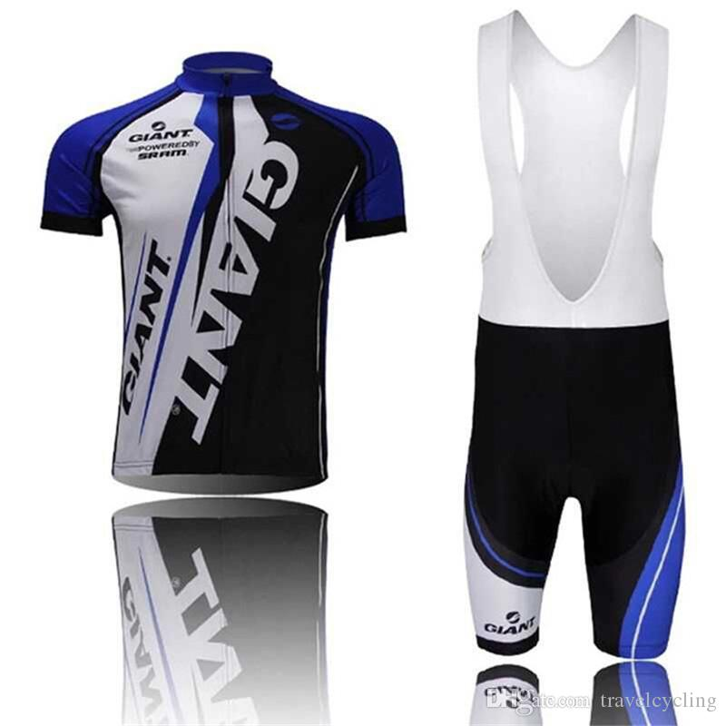 New Giant Tour de France cycling jersey pro team Men's short sleeve quick dry bicycle clothing mtb bike maillot ropa ciclismo Y052718
