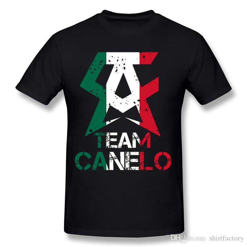 Misture homens homens alvares t-shirt t-shirt equipe canelo mais ordem de algodão cowneck curto manga carbono camiseta 100% t-shirt casual tamanho pkvfg