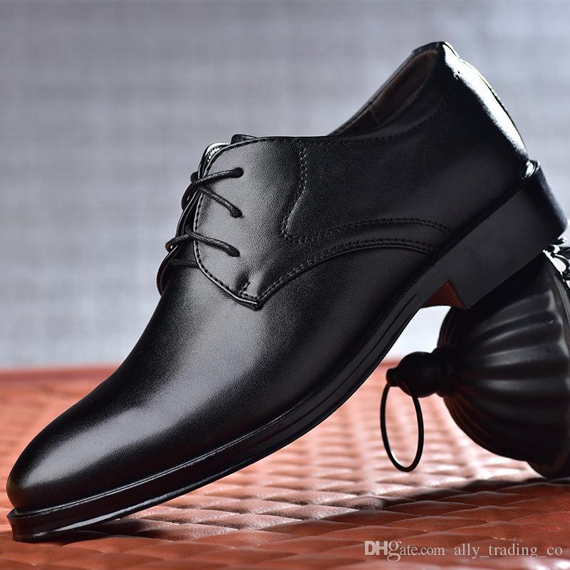 Deri ayakkabı erkekler zapatos hombre erkek ayakkabi sapato masculino calzado hombre erkekler ayakkabı deri oxford ayakkabı