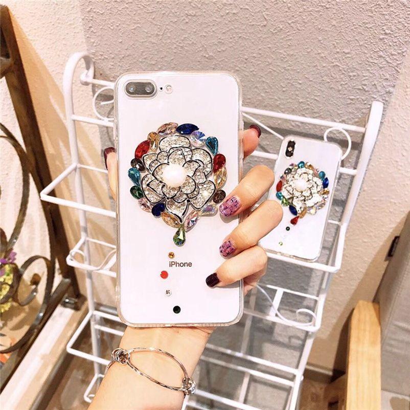For Xiaomi Redmi Note 5 Handmade Rhinestone Case For Xiaomi mi 8/max 3/5X/A1/6X/A2 lite/redmi 5 plus/Note 4X/5A/6A Crystal Cover