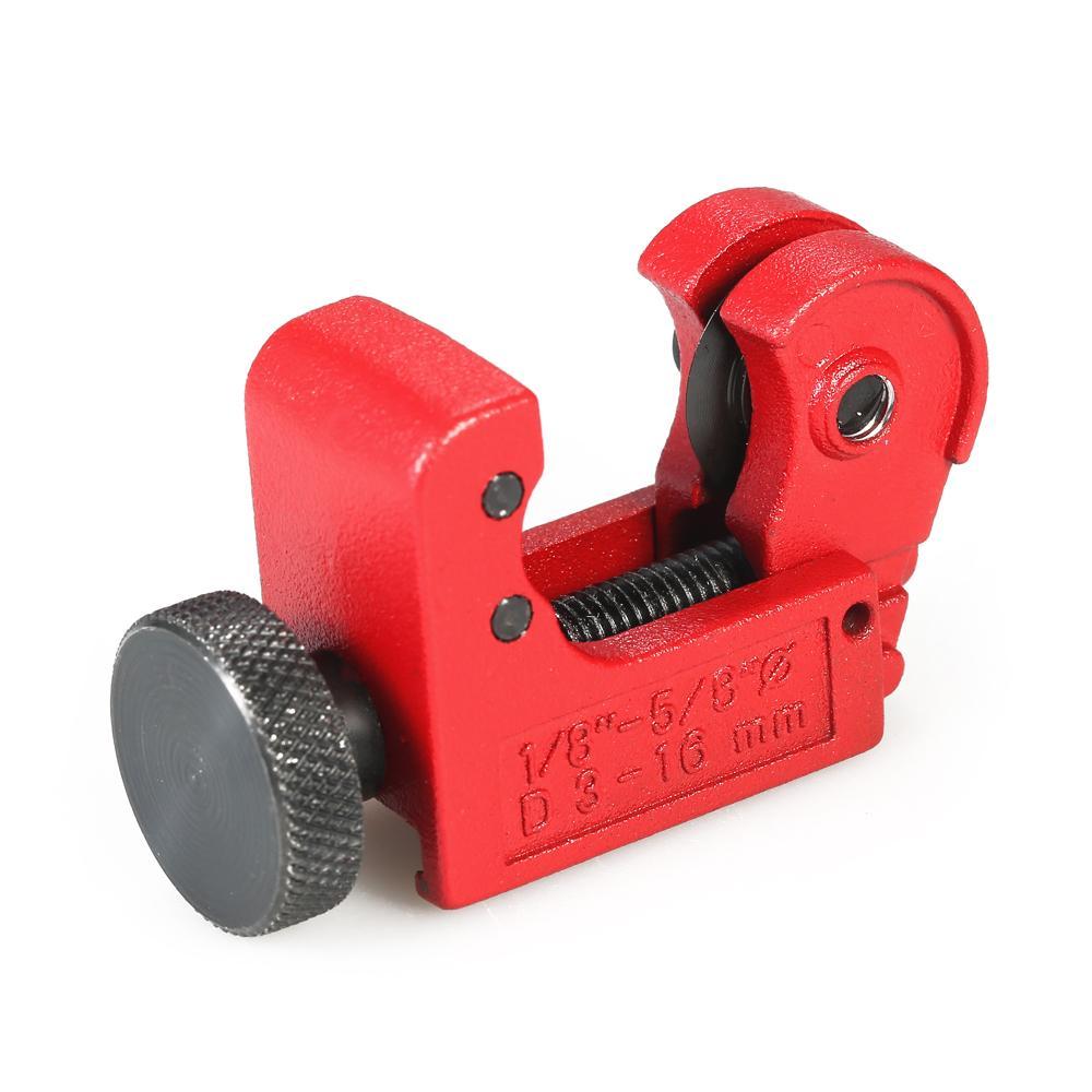 herramienta de corte de tubos para cobre mini cortador de tubo de aleaci/ón ajustable de 3-16 mm // 4-32 mm // 5-50 mm acero inoxidable aluminio PVC pl/ástico 3-16mm Cortatubos