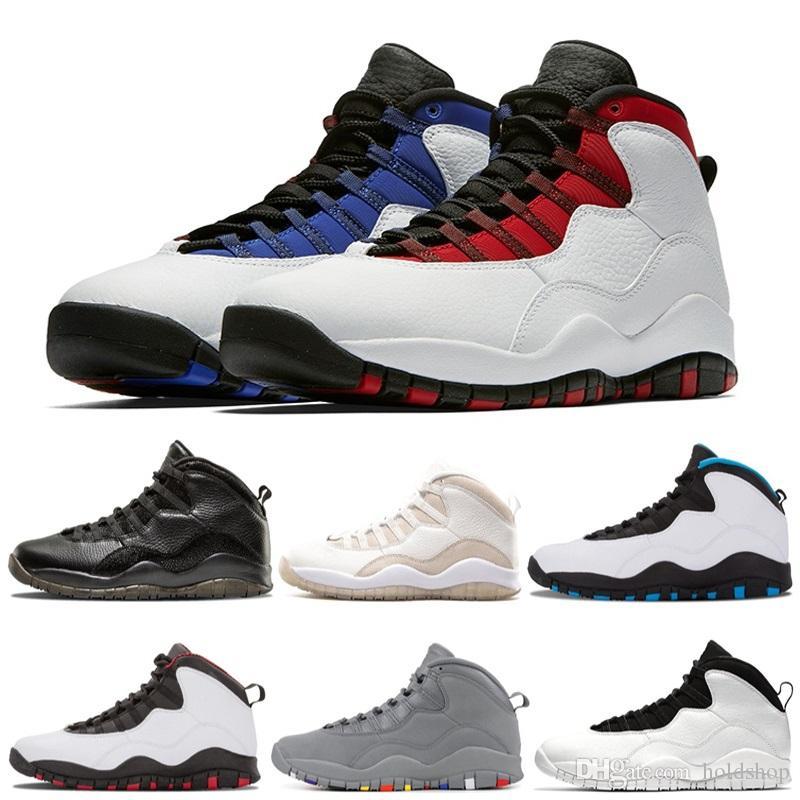 Westbrook X I Çimento 10 Basketbol Ayakkabı geri 10s Erkekler Bobcats ChicagoPowder Mavi Çelik Gri Soğuk Siyah Beyaz Spor Sneakers değilim