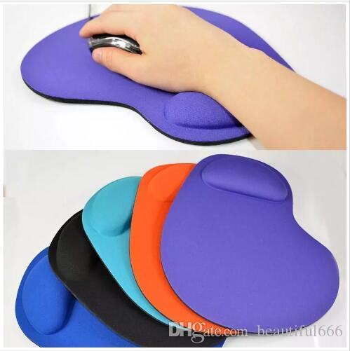 New EVA Silicone Soft Mouse Pad with Wrist Rest Support Mat for Gaming PC Laptop Mac