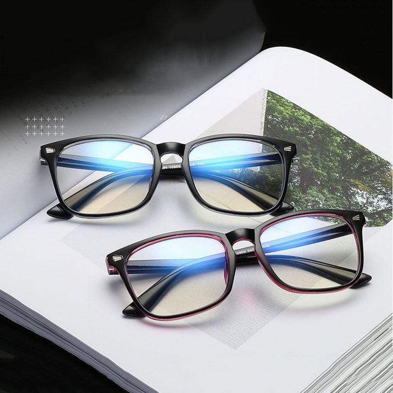 Anti mavi ışınları bilgisayar Gözlük Erkekler için Mavi Işık Kaplama Oyun Gözlük bilgisayar koruma göz Retro Gözlükler Kadınlar