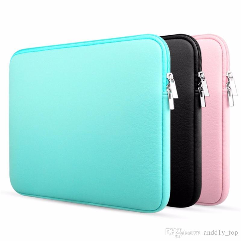 "Laptop Sleeve 13 pollici 11.6 12 15.4 pollici per MacBook Air Pro Retina Display 12,9 ""Custodia morbida per Apple Custodia per notebook Samsung"