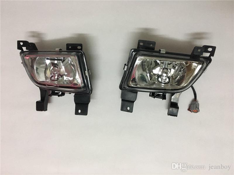 Ön Tampon Işık Sis Lambası Meclisi Mazda 323 1998 için Ampul ile BJ Öncesi 2001 CP B25G-51-680 / 690 19-5269 / 70-A0