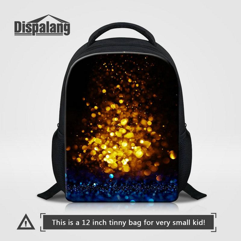 New Popular 12 Inch Bookbag For Boys Personality Galaxy Universe Space Pattern Kids Backpack School Bag Baby Mini Rucksack Children Knapsack