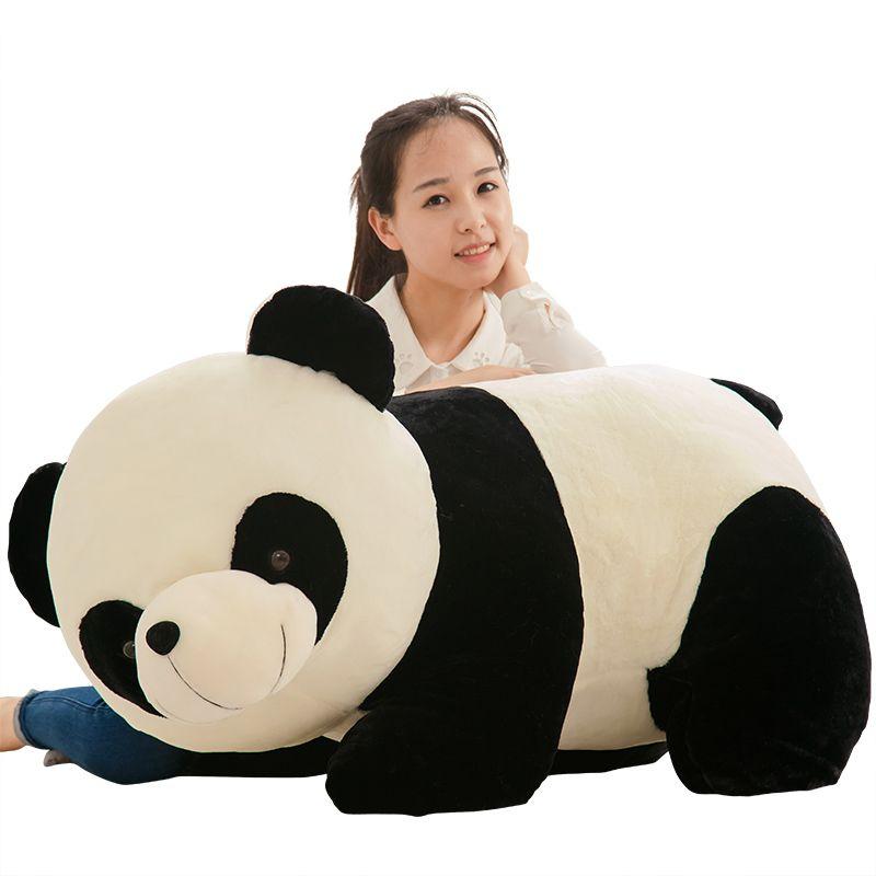 Giant Cute Panda Plush Toy Fat Pandas Dolls Simulation Hug Bear Pillow Doll for Kids Adults Gift 37inch 95cm DY50449