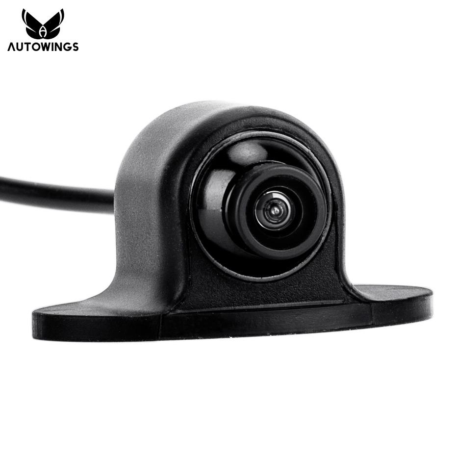 170 Degrees Wide View Angle HD CCD Mini Waterproof Universal Rearview Front Side Car Parking Backup Reverse Rear View Camera