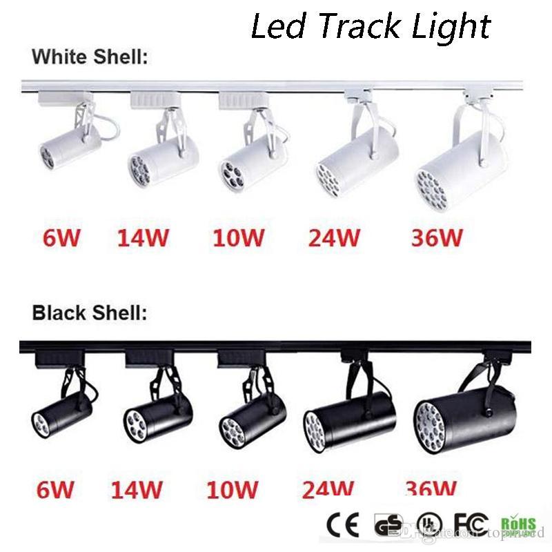 DHL CE ROHS UL LED Parça Işık 6 W 10 W 14 W 24 W 36 W 120 Işın Açı LED Tavan Spot Işık AC 85-265 V LED Spot Aydınlatma