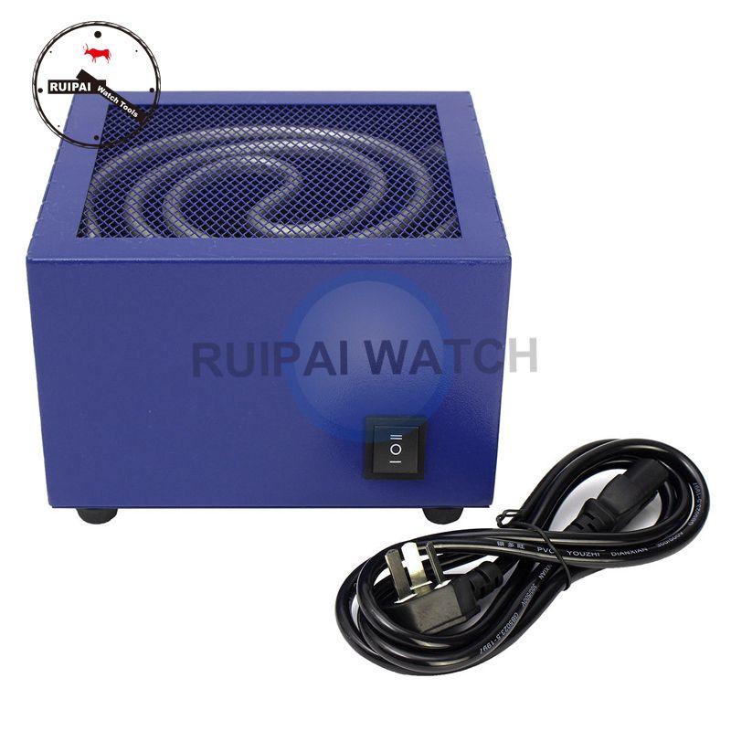 Herramienta del reloj de la máquina del reloj del secador 220V para el relojero