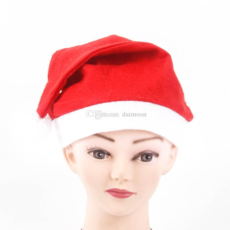 Christmas Caps Santa Hat Cute Decoration New year Snowman Hats for kids and adult christmas decoration party festival cap