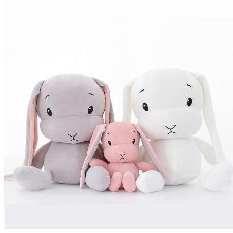 50 см 30 см милый кролик плюшевые игрушки кролик фаршированные плюшевые животные детские игрушки кукла ребенок сопровождает сна игрушка для подарков для детей WJ491