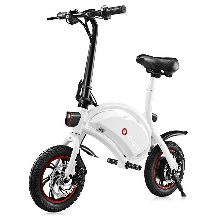 F - wheel DYU D1 12 inch Wheels 10Ah Smart Folding Electric Bike/Powerfull scooter ( Deluxe Version )