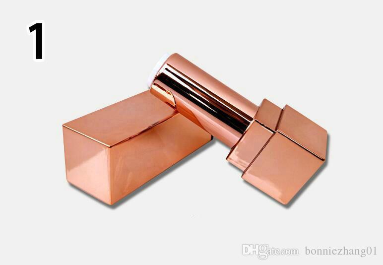 100 pz / lotto tubo di rossetto fai da te cosmetici trucco rossetto contenitore balsamo per le labbra tubo diametro interno 12,1 millimetri tubi