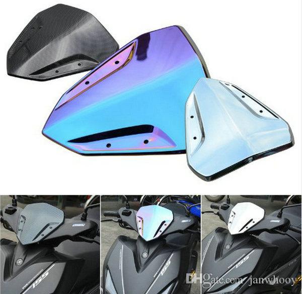 لياماها NVX155 AEROX155 الاكسسوارات دراجة نارية سكوتر تعديل الأمامي الزجاج الأمامي البلاستيك حماية الرياح الأمامي
