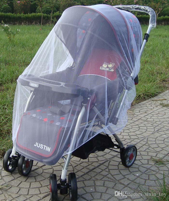 Baby Stroller mosquito bed net Pushchair Mosquito Insect Shield Net Protection Mesh Buggy Cover Stroller Accessories Mosquito Net