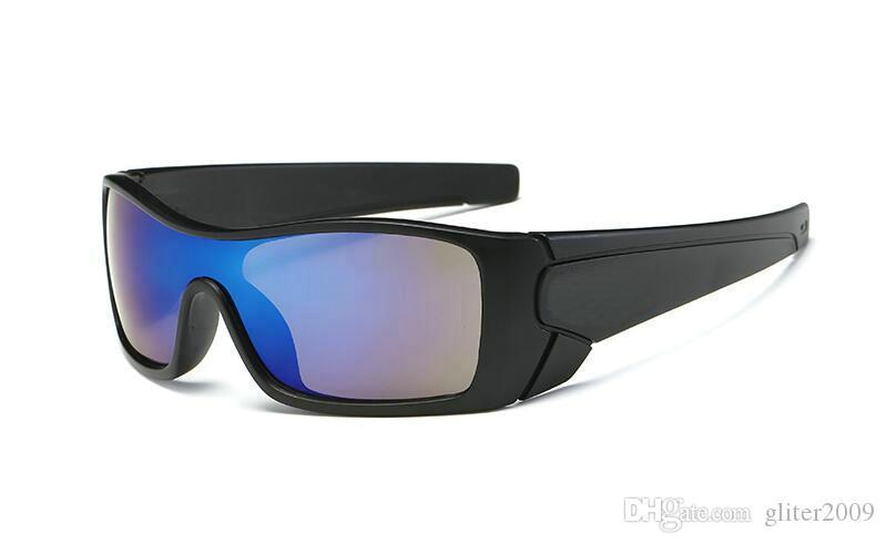 新しいブランドの熱い販売の男性のアウトドアスポーツサングラスサイクリングサングラス9色のファッションDazzle Color Mirrorsファッションスタイルのアイウェア