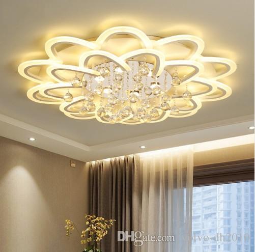 SURFACE MONTÉ MODERMENT LED Plafonniers LED pour salon LED DeckenLeuchte Lampe de ballon Plafond Home Fixtures LLFA