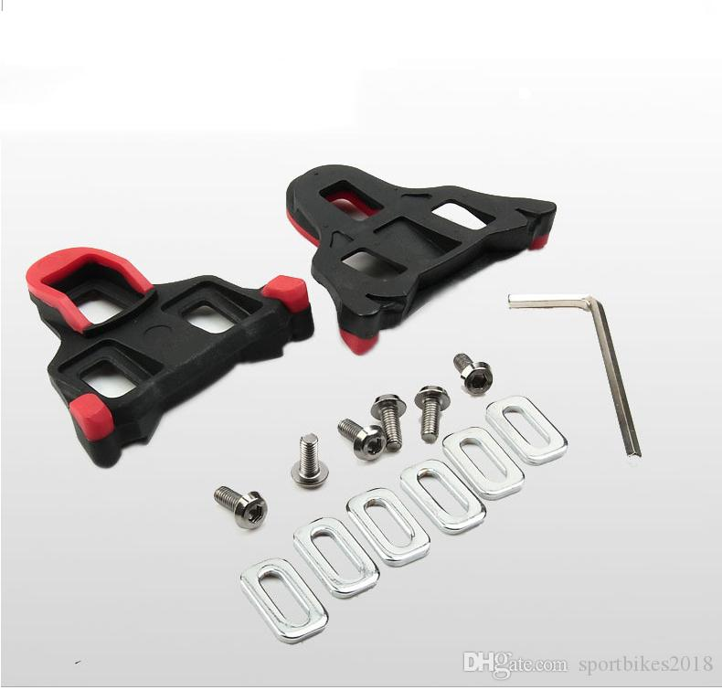 Road Bike Cycle Self-locking Pedal Cleats Set for Time I-Clic and X-Presso pedal