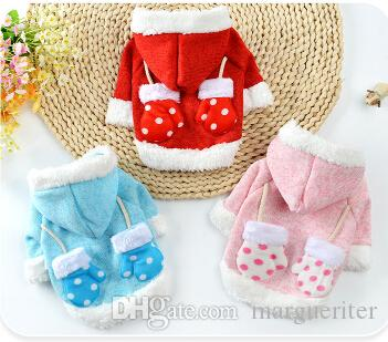 Christmas Pet Dog Sweater Winter Warm Small Dog Puppy Clothes Pet Coat New Year Dog Costumes