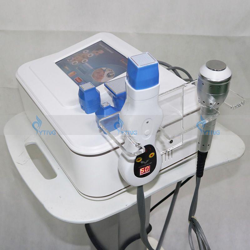 2in1 Портативная кожа Cool Factional RF MicroNeedle Радиочастотная машина красоты RF РЧ лифта, поднятие морщин машина для удаления морщин кожа Rejuvenaiton