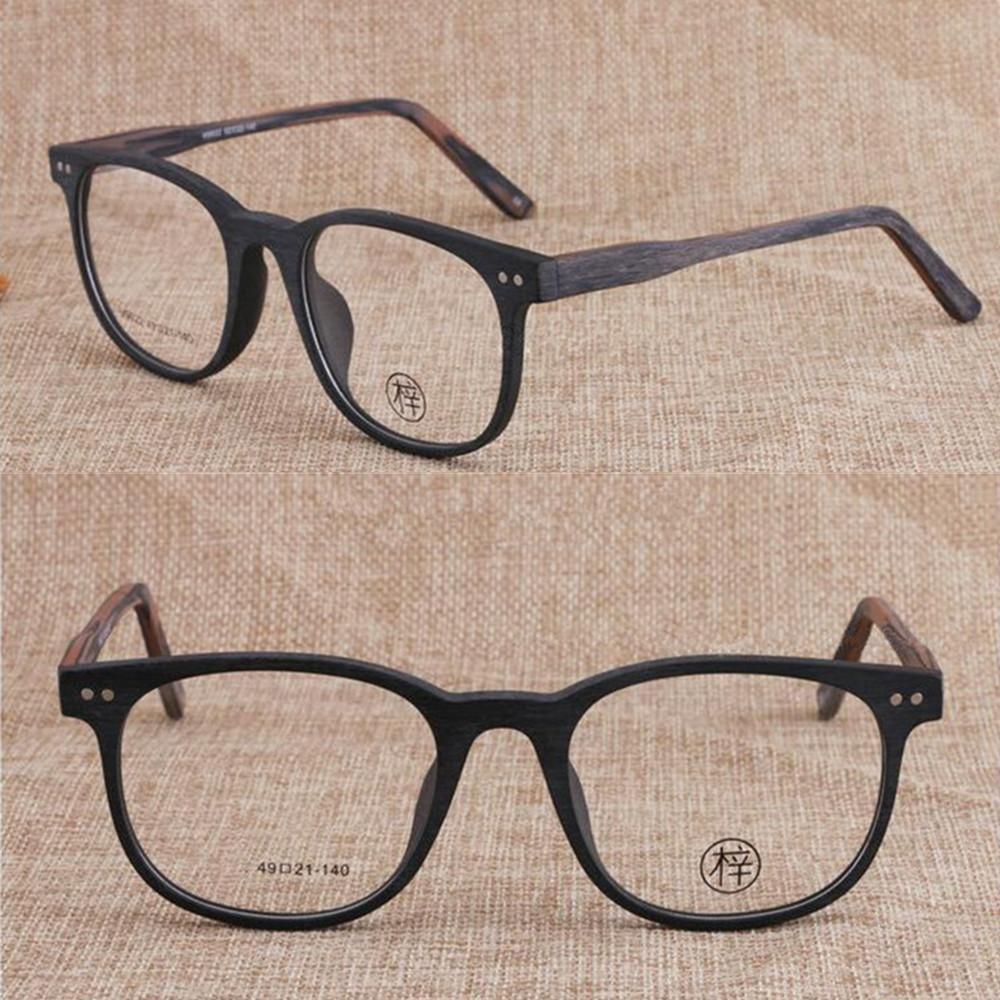 Vintage ręcznie wykonane okulary ramki mężczyźni kobiety pełne okulary obręcze miopia rx zdolne 314