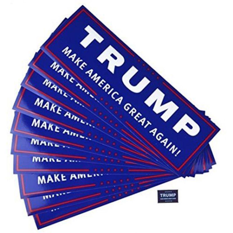 2 стили Дональд Трамп 2020 наклейки на автомобиль 7.6 * 22.9 см бампер стикер стены держать сделать Америку большой наклейка для автомобиля стайлинг автомобиля Пастер DHL бесплатно