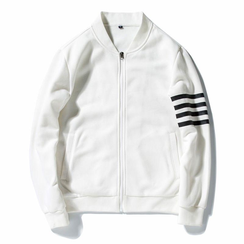 Vestes de Baseball Hommes Streetwear Hip Hop Col Montant Slim Fit Pilote Bomber Hoodies Manteaux Plus La Taille 3XL Veste En Cuir Pilote hombre