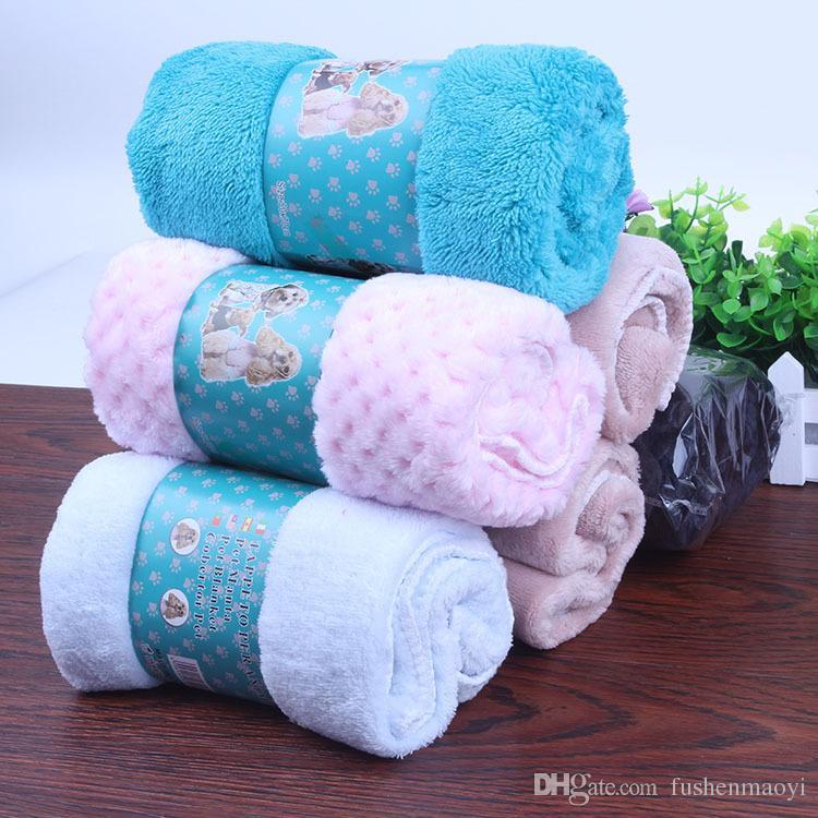 Neue Pet Supplies Hund Decken Hund Nest Pad Saugfähigen Warme Decke Badetücher Flanell Zwingerdecken