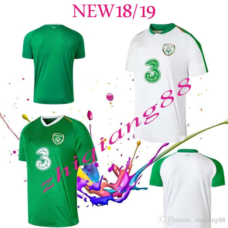 half off 09fd8 2b5c9 2019 2019 Ireland Soccer Jerseys Republic Of Ireland National Team Jerseys  2019 World Cup KEANE Daryl Home Away Customize Football Shirts From ...