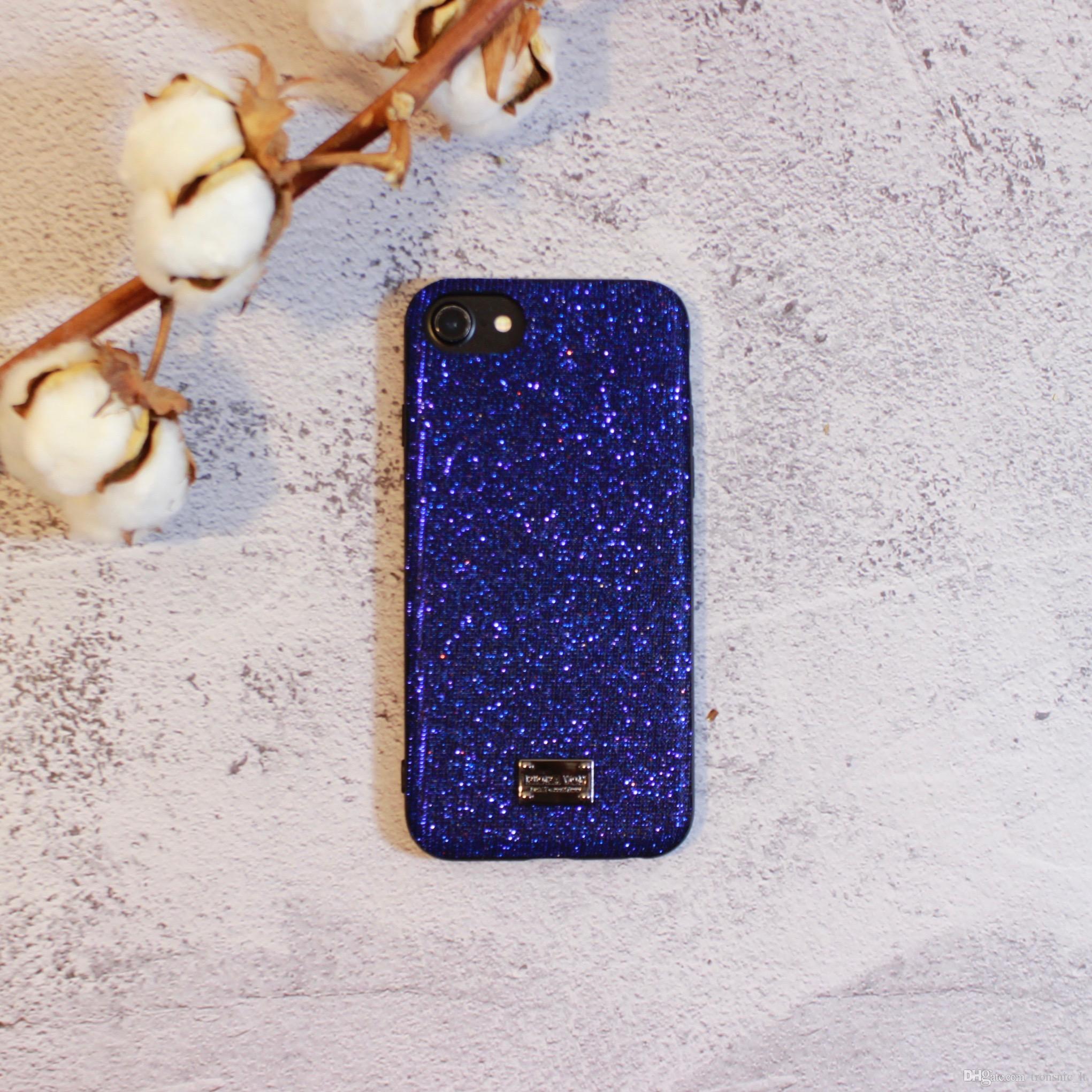 Coque IPhone 6S Plus IPhone 6S Plus Fashion Coque En Soie Diamant Pour IPhone 7 Plus, Rouge Vert Arrière Couvre Noir Rose Proposé Par Tronsnic_lt, ...