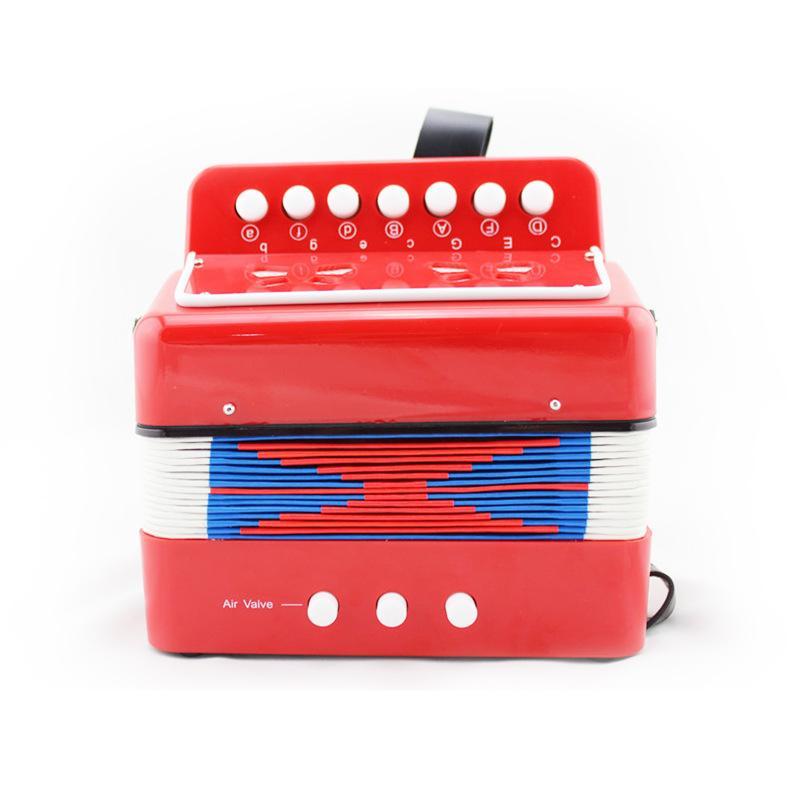 어린이 아코디언 작은 아코디언 조기 교육 악기 제조 업체 직접 마케팅 색상을 선택할 수 있습니다