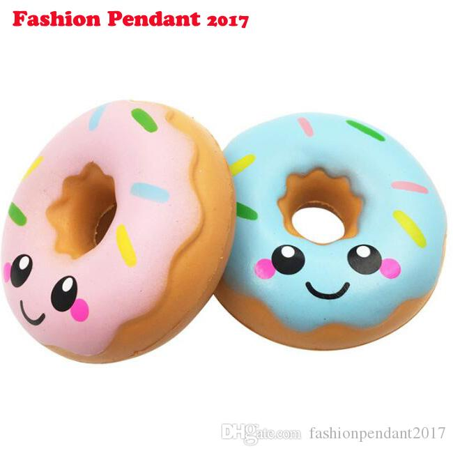 11cm Lovely Doughnut Cream Scented Squishy Slow Rising Squeeze Toys Collection