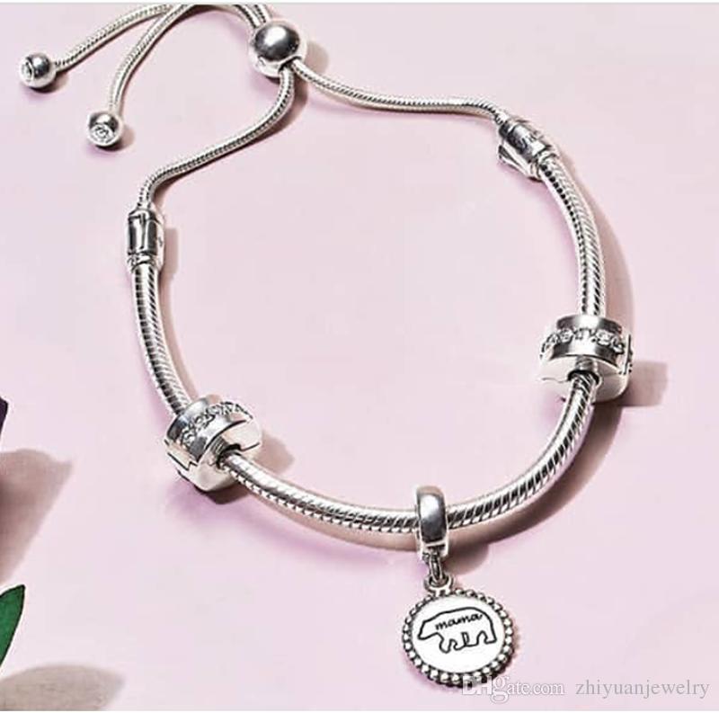 bracelet pandora coulissant