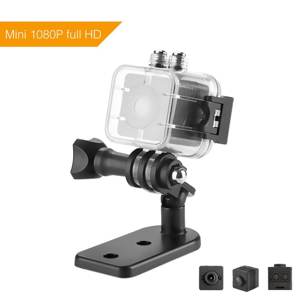 ET SQ12 Mini Camera HD 1080P Waterproof Video Recorder Digital Camera Night Vision Wide-Angle Sports Camcorder VS SQ11 SQ9 SQ8