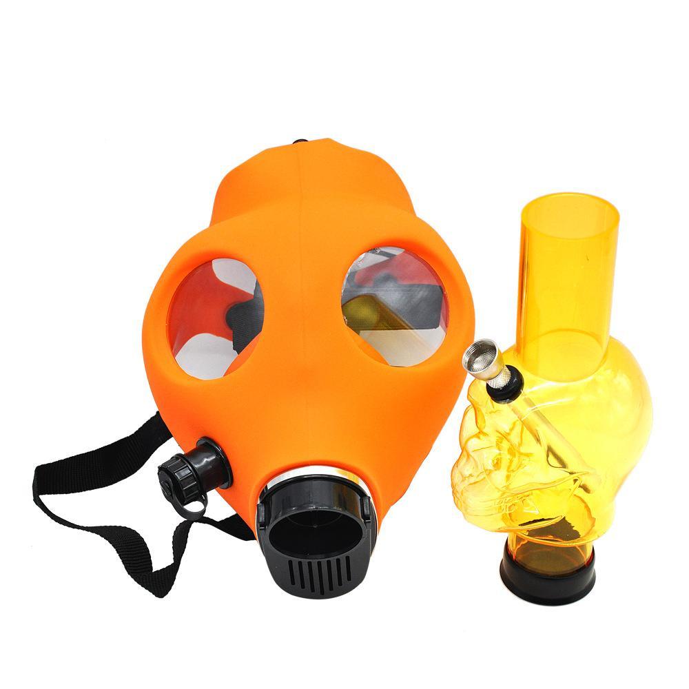 Silicon Gas Mask Bong Hookah Smoking Mix Colors Mask USA Seller Free Shipping