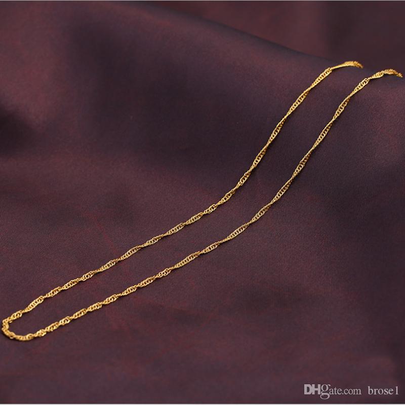 Новый Титан стали вакуумные золото ожерелье прямых продаж производителей много позолоченные ожерелье золото ювелирные изделия ювелирные изделия.