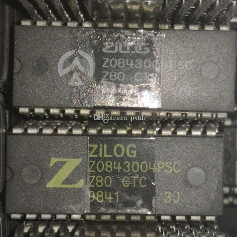 Z0843004PSC, Z80 CTC, PDIP28 / 집적 회로 IC / 듀얼 인라인 28 핀 딥 플라스틱 패키지, Z0843004. 프로그래머블 타이머 칩
