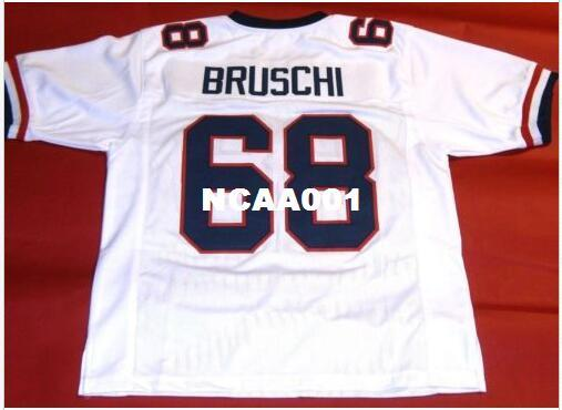 finest selection 8d5ea 48498 2019 Men CUSTOM #68 TEDY BRUSCHI CUSTOM ARIZONA WILDCATS College Jersey  Size S 4XL Or Custom Any Name Or Number Jersey From Ncaa001, &Price; | ...