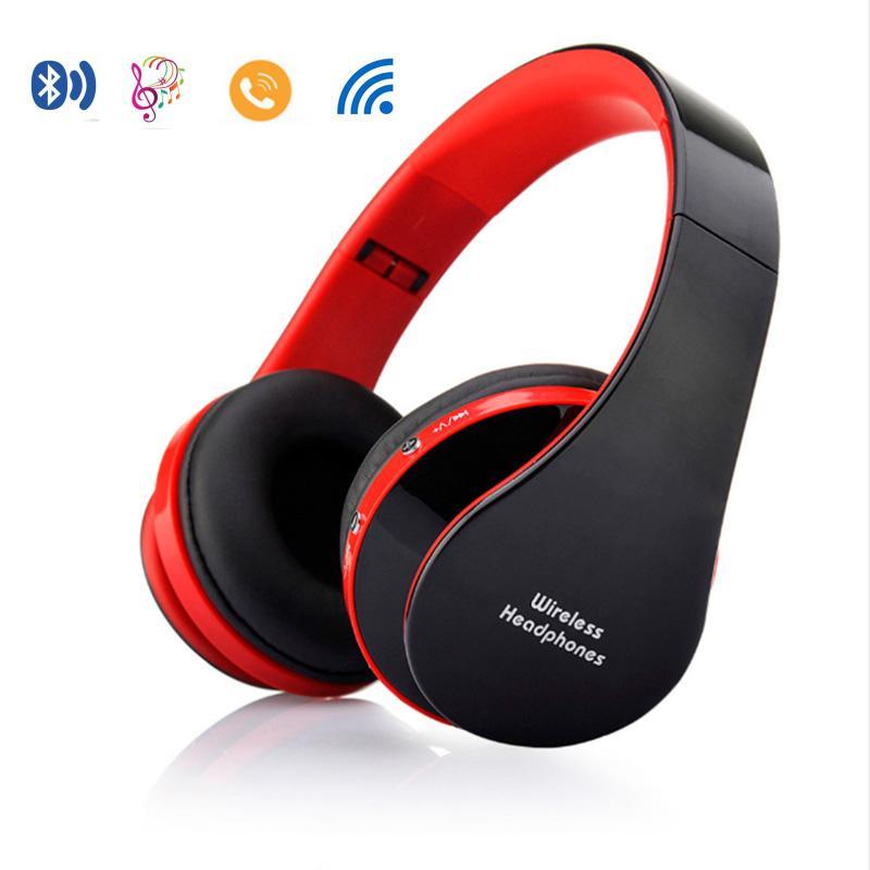Vapeonly Foldable Headband Headphone Portable Wireless Bluetooth Sports Headset w/ Mic/Handsfree Stereo Music Player For iphone