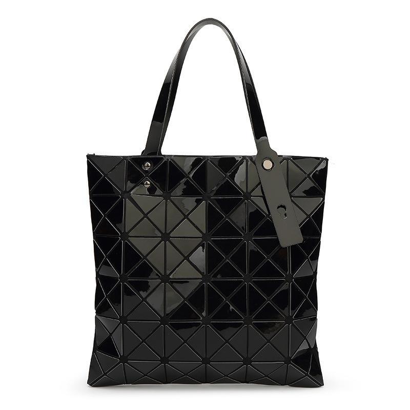 asa superior Bolsas baobao bolsos nuevos plegable geométrica Bao Bao bolso de hombro de la PU del bolso de las mujeres femeninas baobao sac