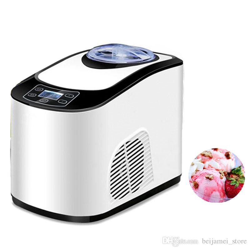 BEIJAMEI 1.5L Ev otomatik mini dondurma makinesi fiyat satılık ev akıllı dondurma makinesi makinesi